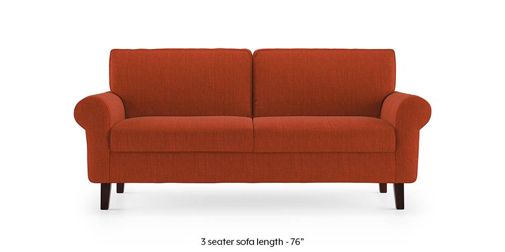 Oxford Sofa (Lava Rust) by Urban Ladder