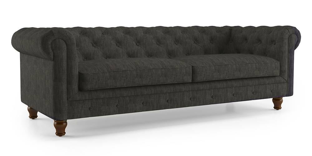 Winchester Fabric Sofa (Graphite Grey) by Urban Ladder