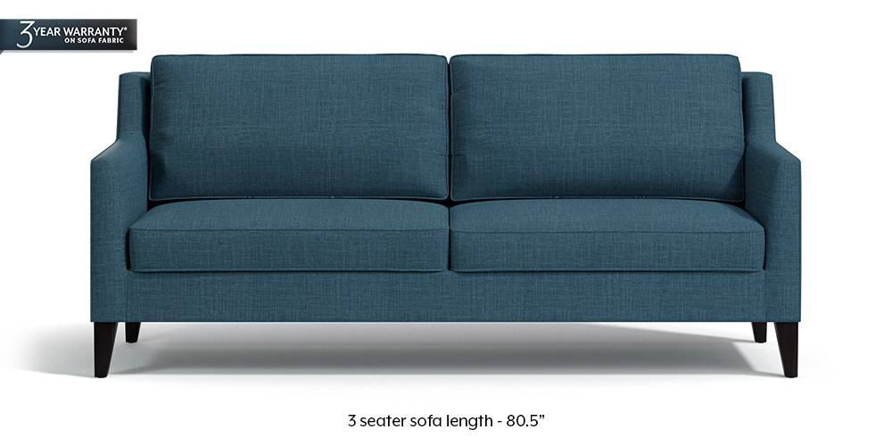 Greenwich Sofa (Colonial Blue) by Urban Ladder