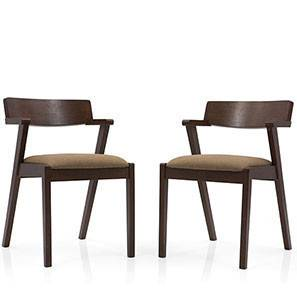 Thomson Dining Chairs - Set of 2 (Cappuccino)