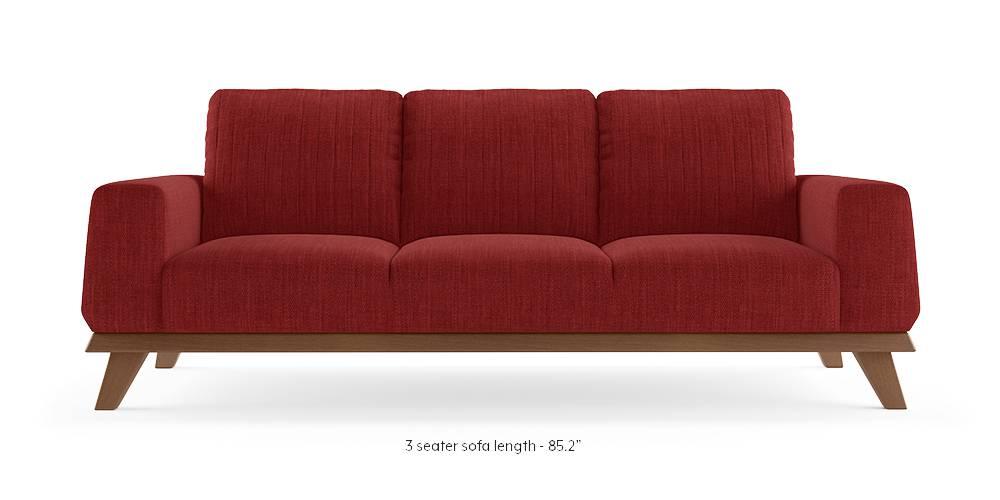 Granada Sofa (Salsa Red) by Urban Ladder