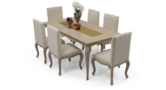 lyon 6 seater dining table set urban ladder