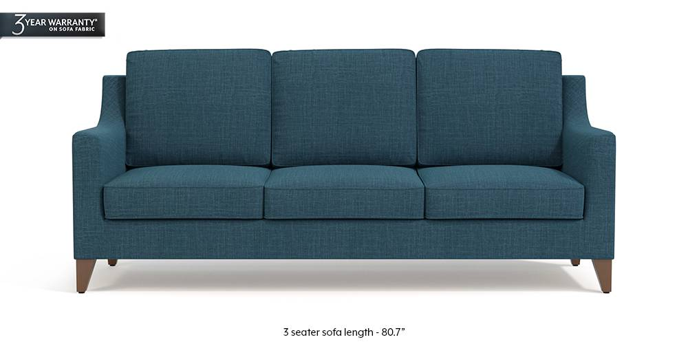 Bexley Sofa (Colonial Blue) by Urban Ladder