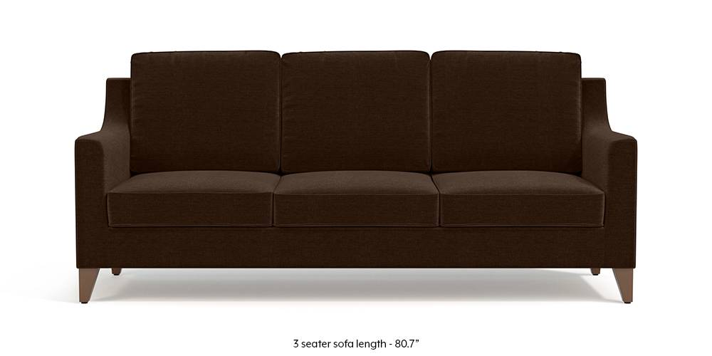 Bexley Sofa (Dark Earth) by Urban Ladder