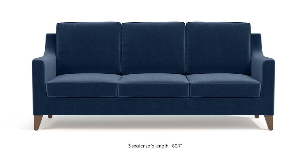 Abbey Sofa (Lapis Blue) by Urban Ladder