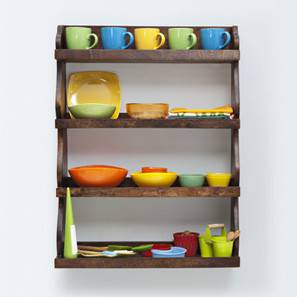 Gusteau Kitchen Rack (Walnut Finish)