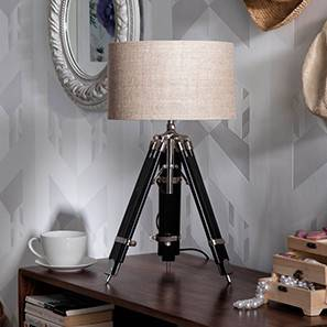 Hubble tripod table lamp natural linen drum shade 0 img 0009 2(2)