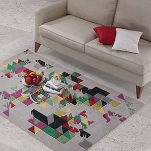 "Mandel Hand Tufted Carpet (36"" x 60"" Carpet Size)"