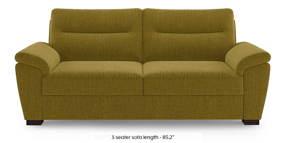 Adelaide Sofa (Olive Green) (1-seater Custom Set - Sofas, None Standard Set - Sofas, Olive, Fabric Sofa Material, Regular Sofa Size, Regular Sofa Type) by Urban Ladder