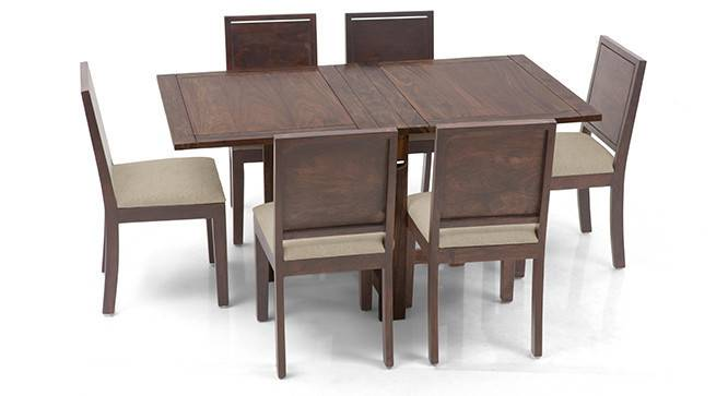 Danton 3 To 6 Oribi 6 Seater Folding Dining Table Set