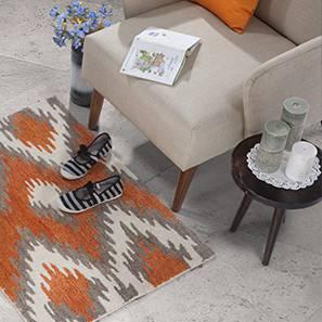"Tavernier Hand Tufted Carpet (24"" x 36"" Carpet Size, Caramel Brown)"