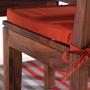 Puco Seat Cushions - Set of 2 (Burnt Orange)