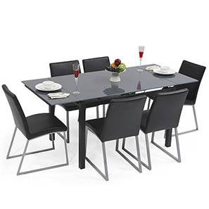 Extendable dining table 4 to 6 india dining tables up for Extendable dining table india