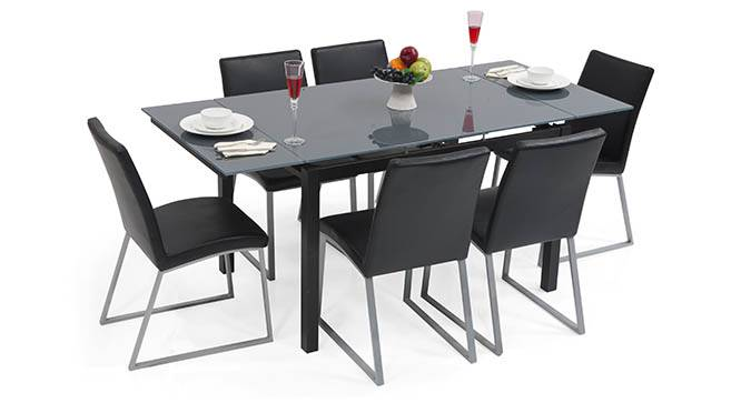 Lucerne 4 To 6 Extendable Delphine 6 Seater Dining Table