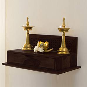 Devoto Prayer Shelf (Mahogany Finish)