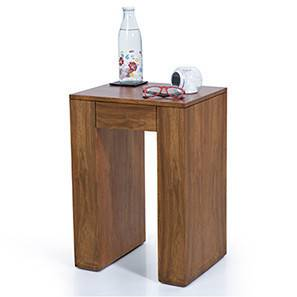 Epsilon Side Table (Teak Finish)