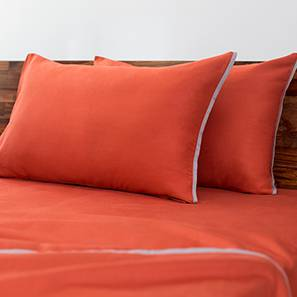 Serena Bedsheet Set (Red, Double Size)
