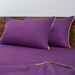 Serena Bedsheet Set (Berry, Double Size)