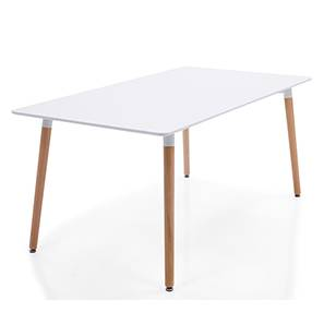 Konrad Mini 4 Seater Dining Table (White Finish)