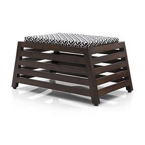Danta One Seat Bench (Walnut Finish)