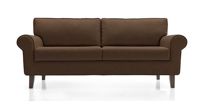 Oxford Sofa (Mocha) (Mocha, Fabric Sofa Material, Regular Sofa Size, Regular Sofa Type)