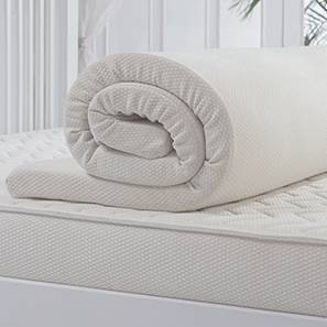 Manteau Cocoon (Memory Foam Mattress Topper) (Queen Mattress Toppers Size)