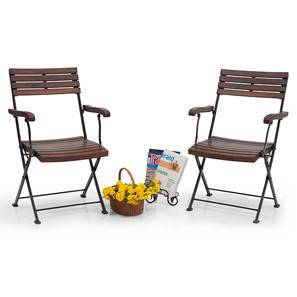 garden table and chair sets india. masai arm chairs - set of two (teak finish) (black) garden table and chair sets india
