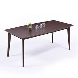 Magnus Dining Table (Dark Walnut Finish)
