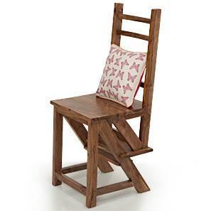 Attica Transforming Ladder - Chair (Teak Finish)