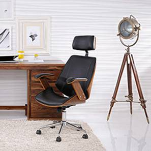 home office desks chairs. exellent chairs ray executive study chair walnut finish black with home office desks chairs