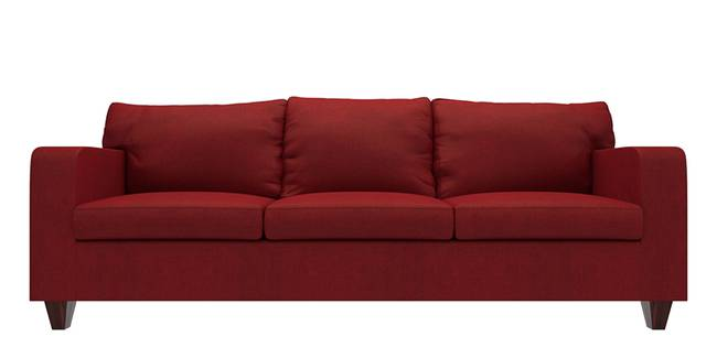 Walton Sofa (Sangria Red) (Sangria Red, Fabric Sofa Material, Regular Sofa Size, Regular Sofa Type)