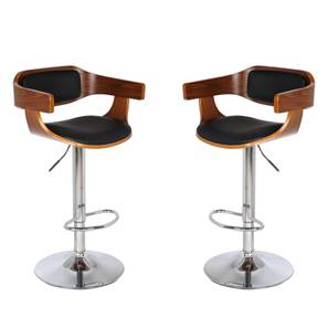 Chumley Adjustable Height Swivel Bar Stools   Set Of 2
