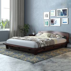 tahiti platform bed mahogany finish - Bed