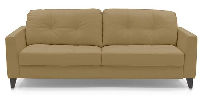 Franco Sofa (Camel Italian Leather) (Camel, Regular Sofa Size, Regular Sofa Type, Leather Sofa Material)