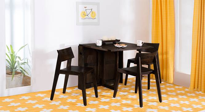Danton 3 To 6 Gordon 3 Seater Folding Dining Table Set
