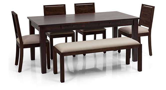 Oliver Oribi 6 Seater Dining Table Set With Upholstered