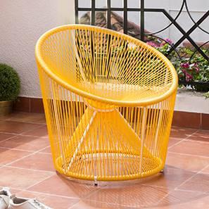 Rosen Patio Chair (Yellow)