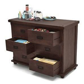 Lhasa Chest of Drawers (Mahogany Finish)