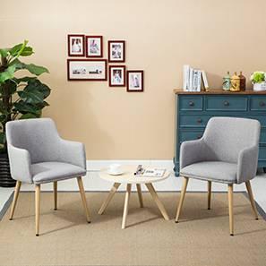 Murray lounge chair light grey set of 2 00 lp