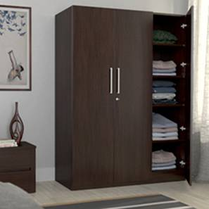 Domenico Wardrobe (Three Door, No Mirror, Without Drawer Configuration)