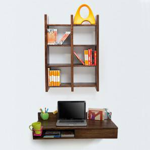 Wodehouse wall desk walnut finish tic tac 00 lp