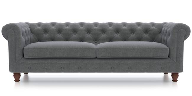 Winchester Fabric Sofa (Smoke) (Smoke, Fabric Sofa Material, Regular Sofa Size, Regular Sofa Type)