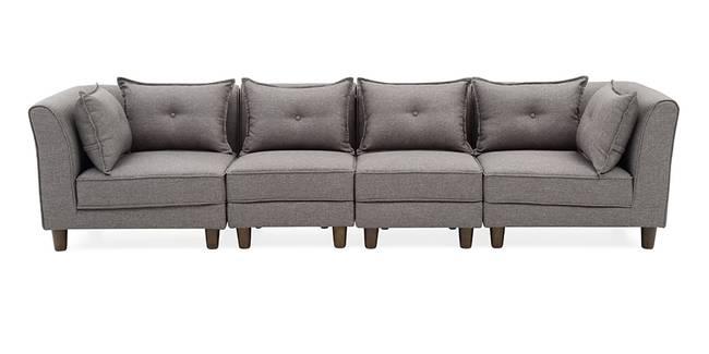 Mara Modular Sofa (Grey) (Grey, Fabric Sofa Material, Regular Sofa Size, Modular Sofa Type)