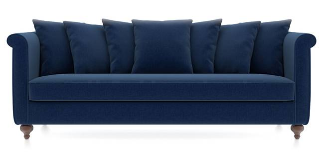 Marlene Sofa (Cobalt) (Cobalt, Fabric Sofa Material, Regular Sofa Size, Regular Sofa Type)
