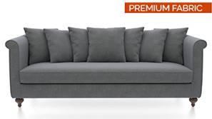 Marlene Sofa (Smoke) (Smoke, Fabric Sofa Material, Regular Sofa Size, Regular Sofa Type)