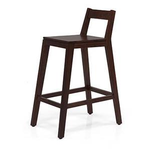 Mosby Bar Stool (Mahogany Finish)