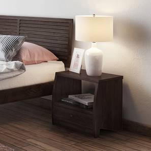 Siesta Bedside Table (Mahogany Finish)