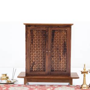 Devoto Prayer Cabinet (Teak Finish)