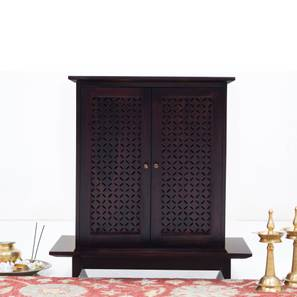 Devoto Prayer Cabinet (Mahogany Finish, Without Drawer Configuration)