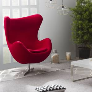 Egg Chair Replica (Red)